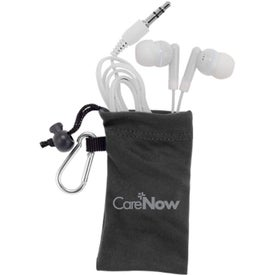MicroFiber Ear Bud Pouch for Your Company