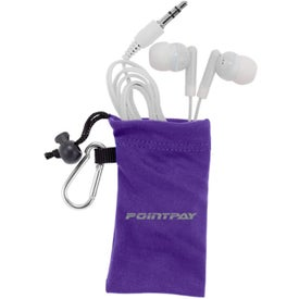 MicroFiber Ear Bud Pouch for Your Church
