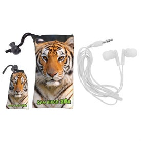 MicroFiber Earbud Pouch