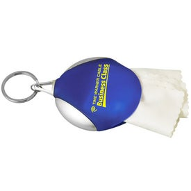 Personalized Microfiber Keeper Keytag