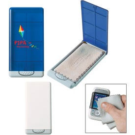 Personalized Microfiber Screen Cleaner in Case