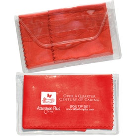 Company Micropak Microfiber Cloth In Clear Pouch