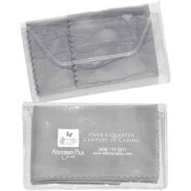 Micropak Microfiber Cloth In Clear Pouch for Your Church