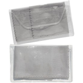 Micropak Microfiber Cloth In Clear Pouch for Marketing