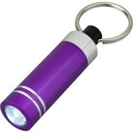Mini Aluminum LED Light With Key Ring for Your Church