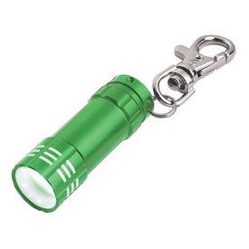 Mini Aluminum LED Light With Key Clip for Your Company