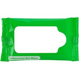 Company Mini Antibacterial Wet Wipe Packet