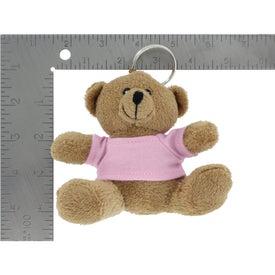 Printed Mini Bear Key Chain
