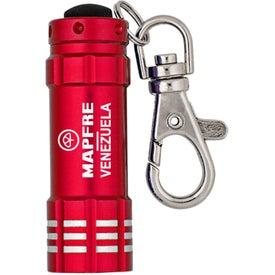 Mini-Beveled Keylight Printed with Your Logo