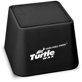 Imprinted Mini Bluetooth Cube Speaker