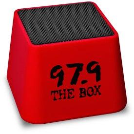 Branded Mini Bluetooth Cube Speaker