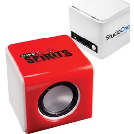Mini Bluetooth Sound Kube with Your Slogan