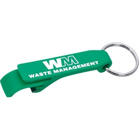 Monogrammed Mini Bottle and Can Opener/Key Ring