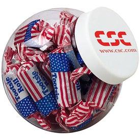 Mini Candy Jar - Flag Toots