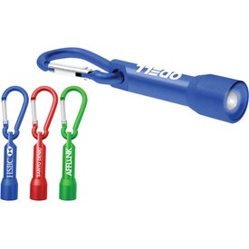 Mini Carabiner Keylight Printed with Your Logo