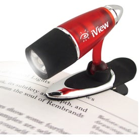 Mini Clip Light Imprinted with Your Logo