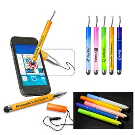 Mini Color Changing Stylus Pen for Your Company