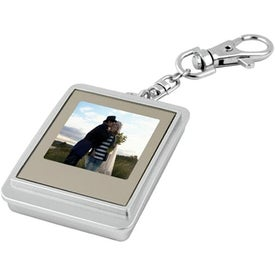 Imprinted Mini Digi-Frame Key Tag