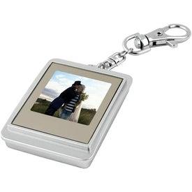 Imprinted Mini Digi-Frame Key Tag