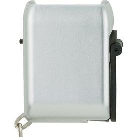 Mini Dynamo Flashlight Keychain with Your Logo