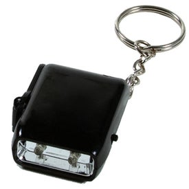 Promotional Mini Dyno LED Keychain