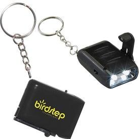 Mini Dyno LED Keychain for Your Organization