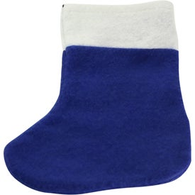 Mini Felt Christmas Stocking Branded with Your Logo