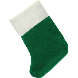 Advertising Mini Felt Christmas Stocking