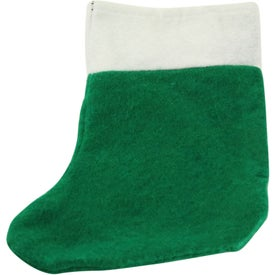 Mini Felt Christmas Stocking with Your Logo