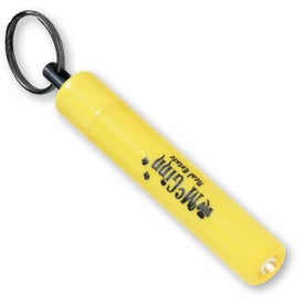 Logo Mini Flashlight Key Tag