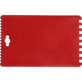 Credit Card-sized Ice Scraper for Customization