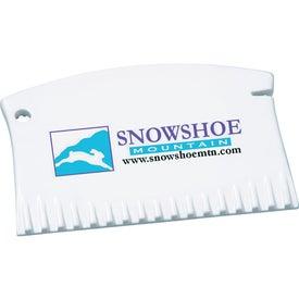 Mini Ice Scraper Plus Imprinted with Your Logo