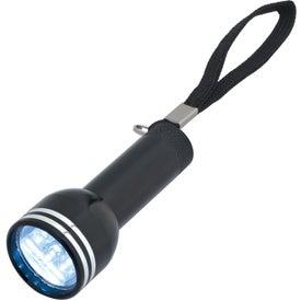 Mini Mega Aluminum LED Light with Strap with Your Slogan