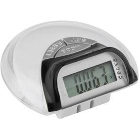 Mini Mode Pedometer with Your Slogan
