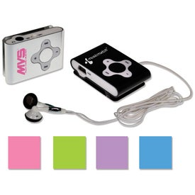Mini MP3 Player Branded with Your Logo