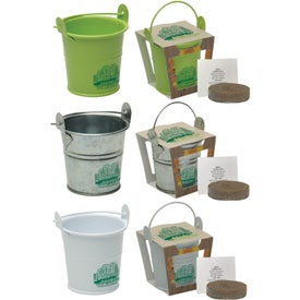Mini Pail Blossom Planter Kit