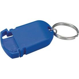 Imprinted Mini Pill Holder Keychain