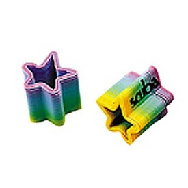 Mini Rainbow Star Spring
