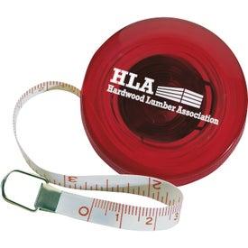 Branded Mini Round Tape Measure
