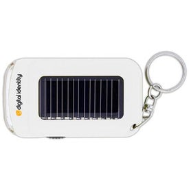 Mini Solar Flashlight Branded with Your Logo