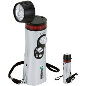 Mini Survival Flashlight Radio