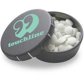 Personalized Mini Tek Klick Mint Tin