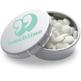 Customized Mini Tek Klick Mint Tin