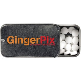 Mini Tek Slider Mints Imprinted with Your Logo