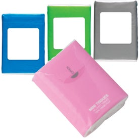 Mini Tissue Packet Imprinted with Your Logo