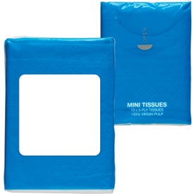 Imprinted Mini Tissue Packet