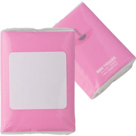 Mini Tissue Packet Printed with Your Logo