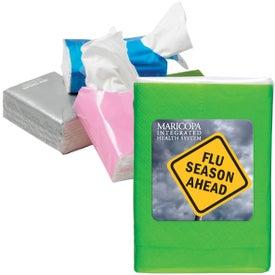 Branded Mini Tissue Packet