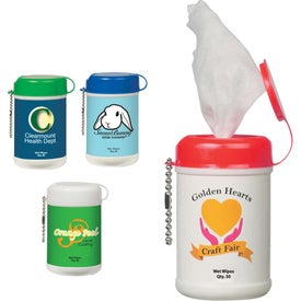 Mini Wet Wipe Canister for Your Organization