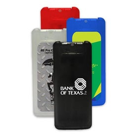 Mini Credit Card Antibacterial Hand Sanitizer Spray